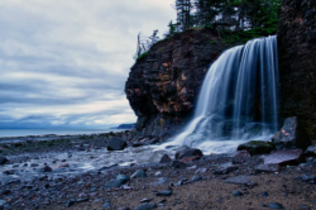 Margaretsville Waterfall