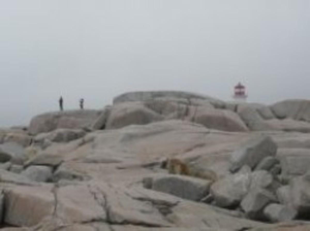 Peggys Cove Lighthouse Nova Scotia