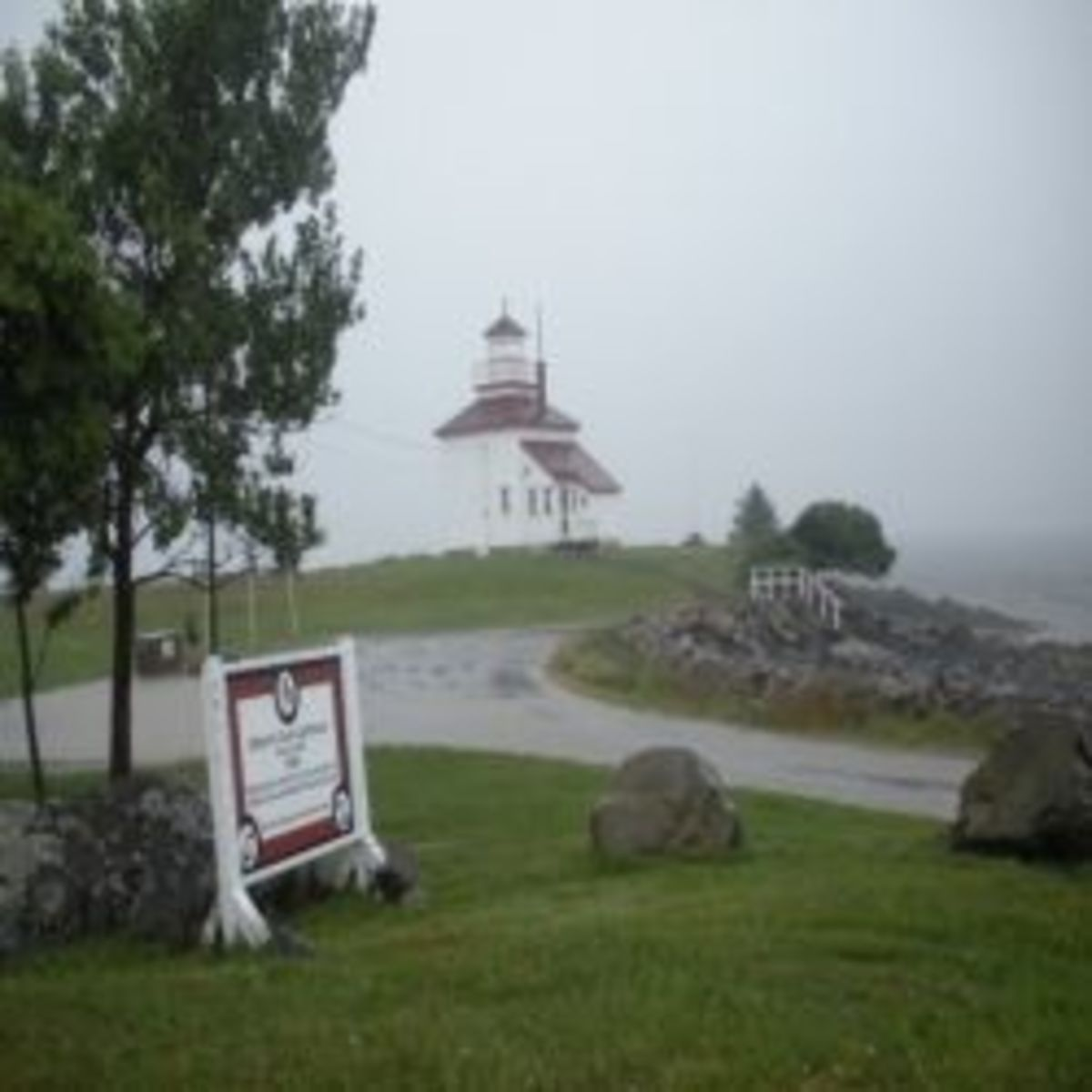 Gilbert's Cove Lighthouse Nova Scotia