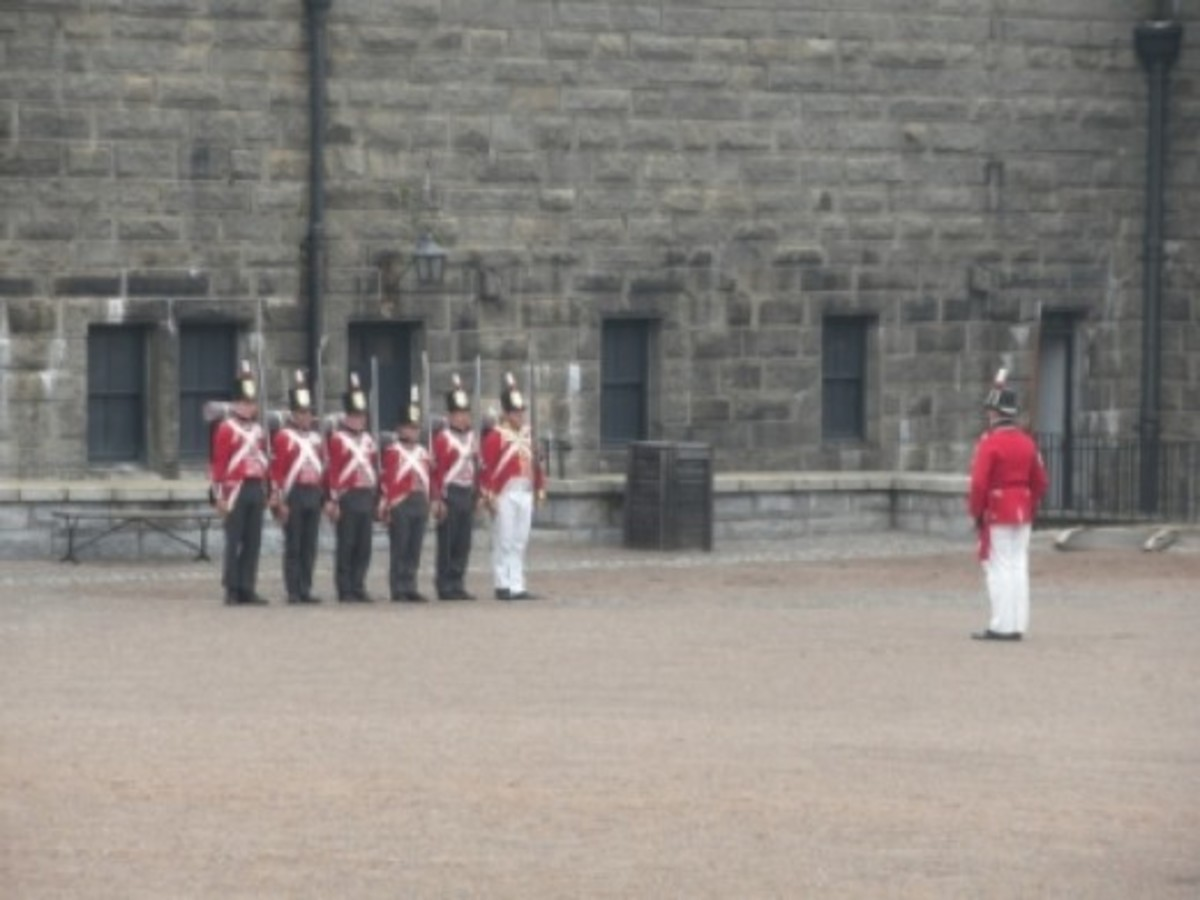 Re-Enactors at the Citadel
