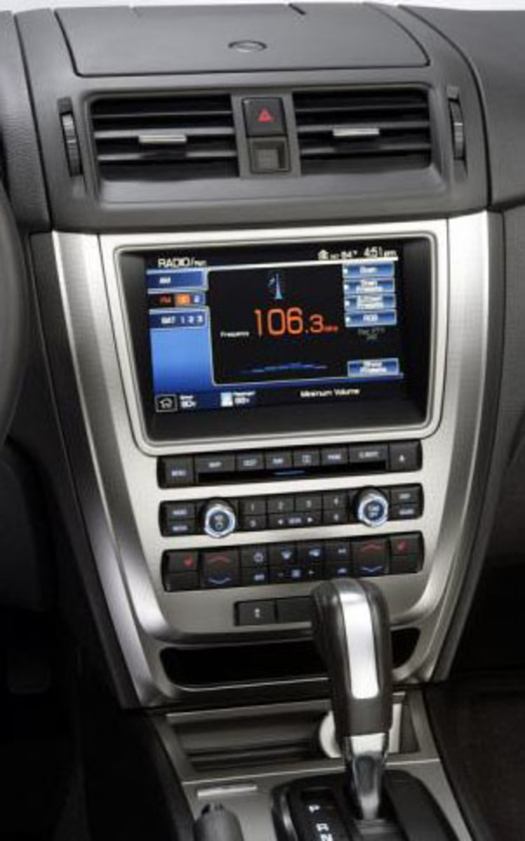2010 Ford Fusion Interior
