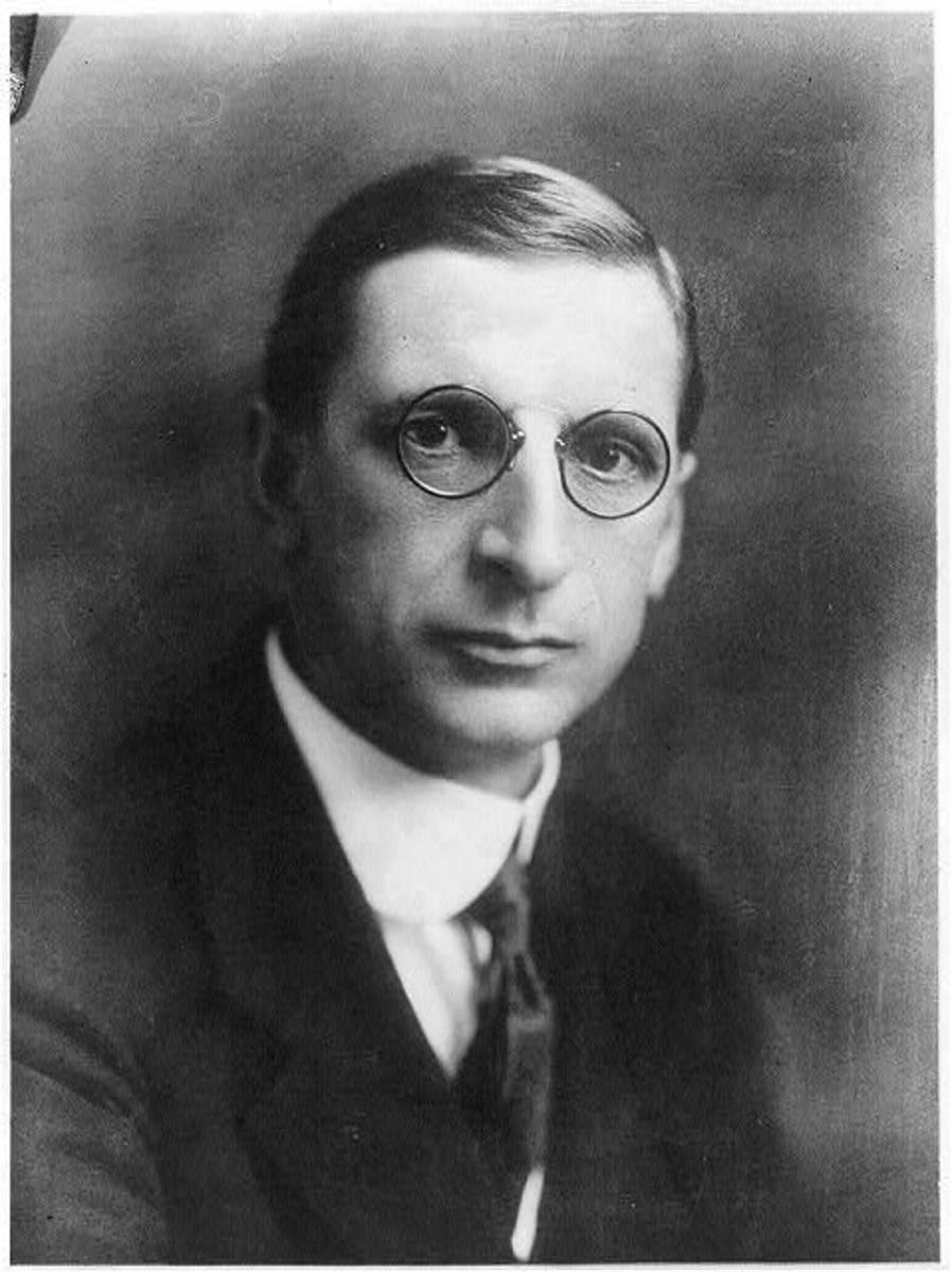 Eamon De Valera, President of Ireland.  Born 1882, Died 1975