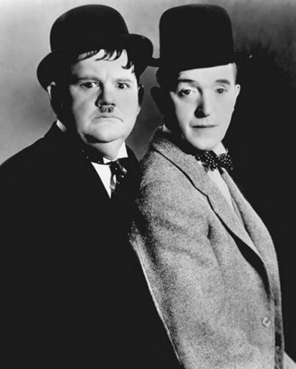 Stan Laurel and Oliver Hardy made up one of the greatest comedy Duos of all time.