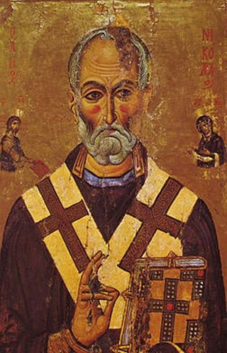 The REAL Saint Nick from Greece