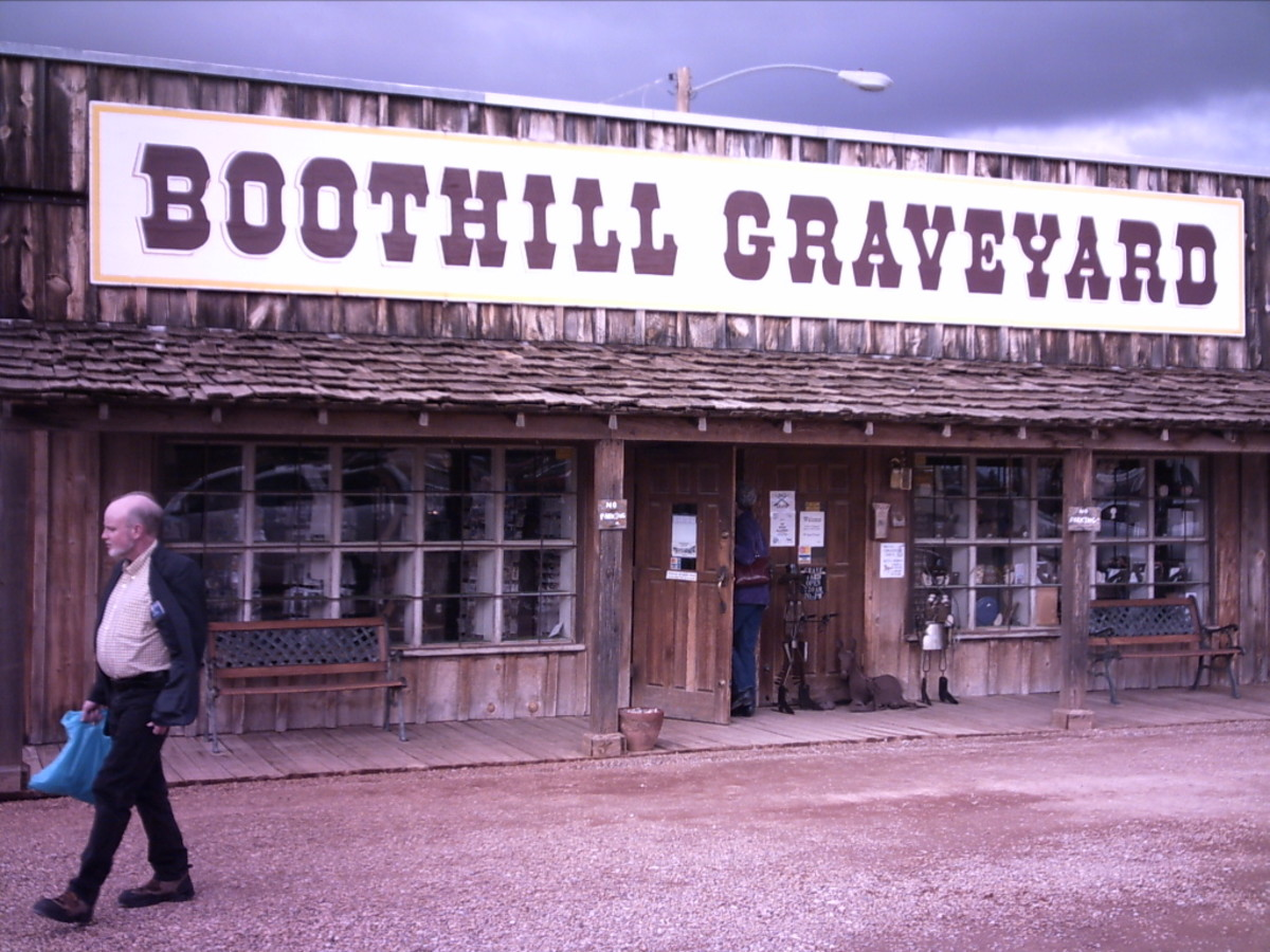 Tombstone Arizona's Boot Hill Cemetery