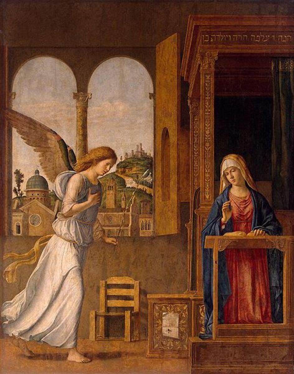 Annunciation, by Cima da Conegliano