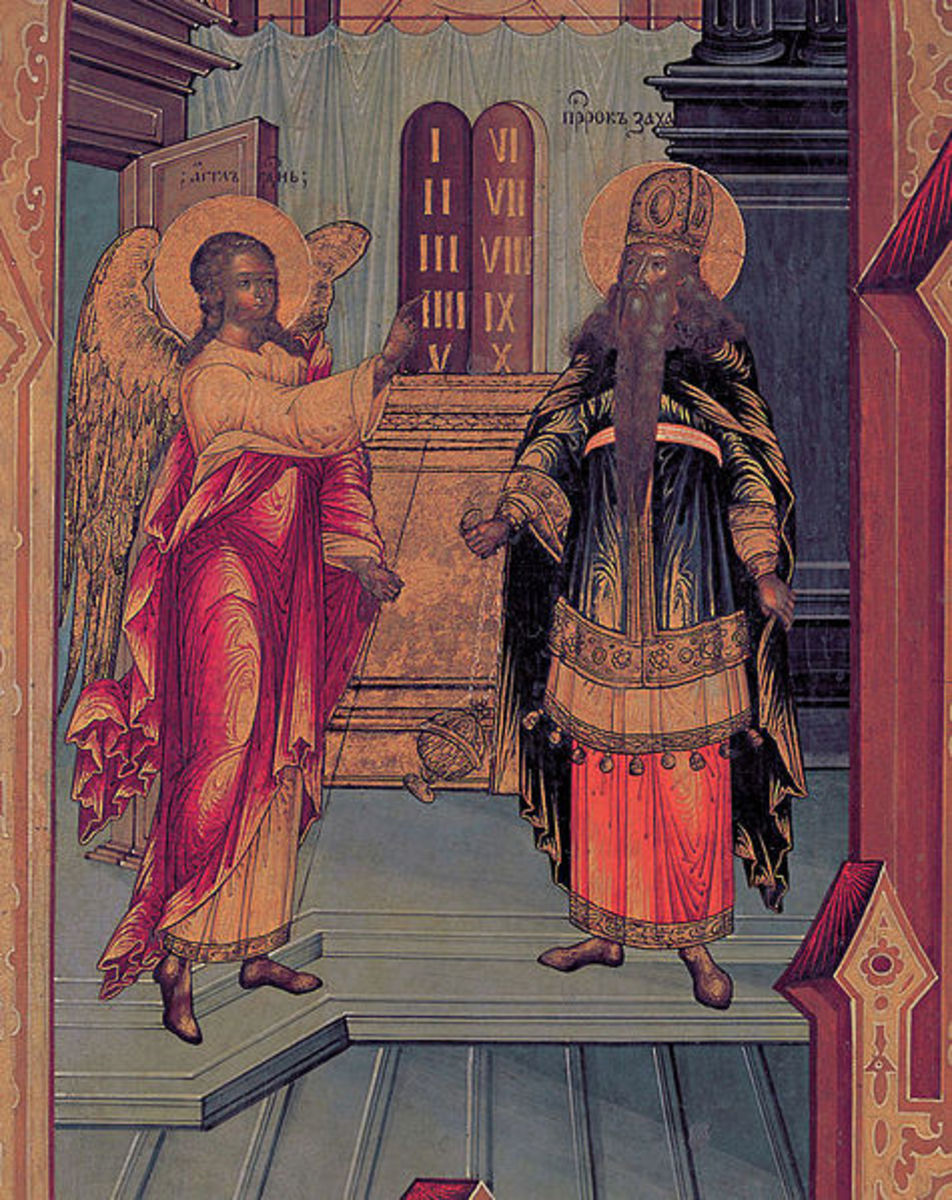 Zechariah and Mary: a Christmas study in contrasts