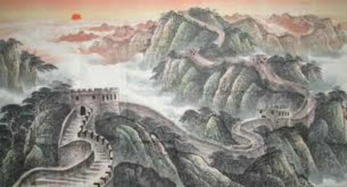 Landscape; The Great Wall of China