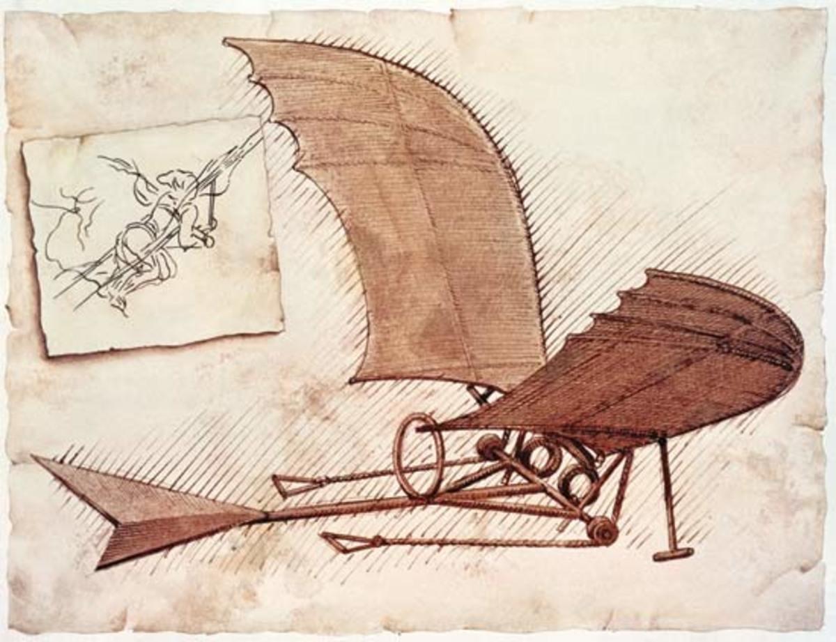 Da Vinci - Glider Airplane
