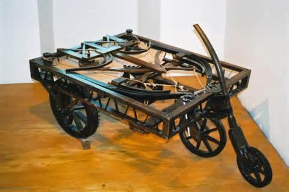 Da Vinci's precurser to the automobile