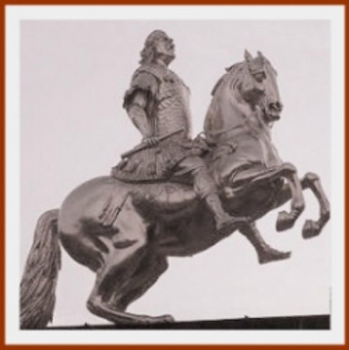 """""""Goldener Reiter"""" (Golden Rider) Dresden"""