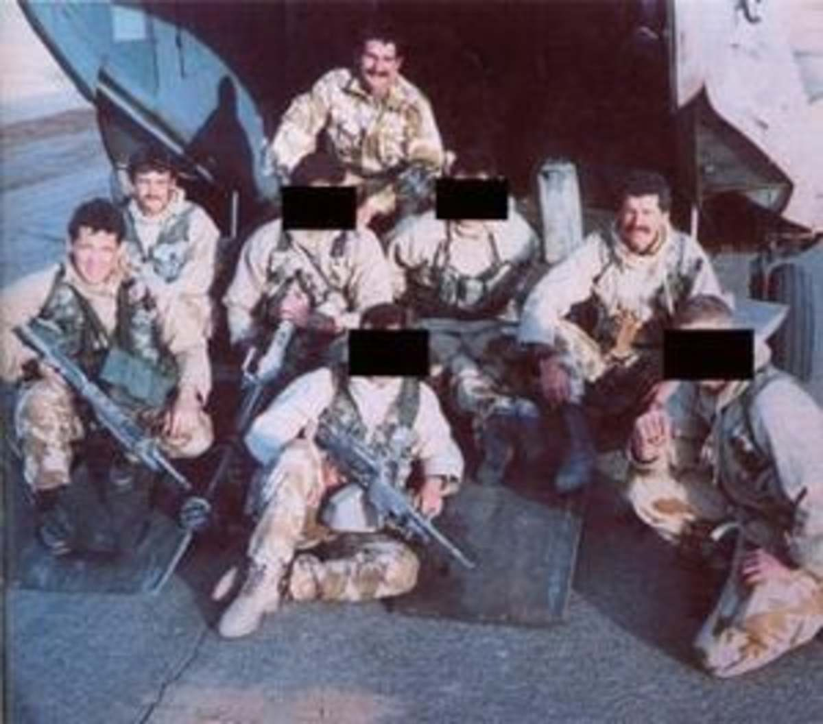 A  real SAS Patrol that was the most decorated SAS Patrol ever. From the book 'Bravo two zero'