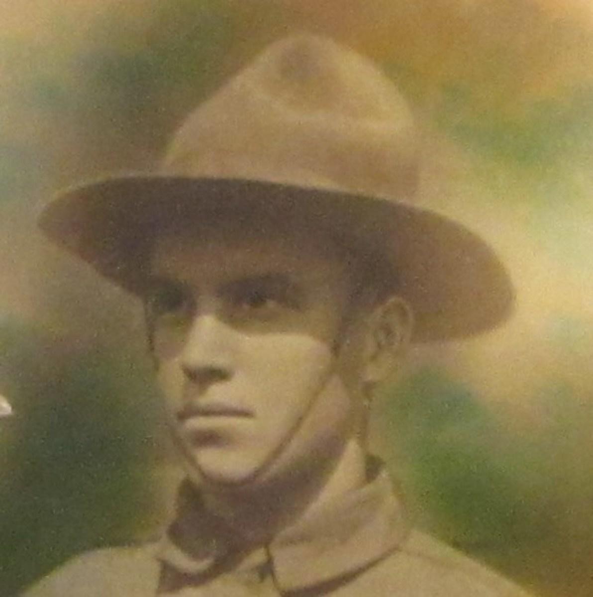 Albert Vining in World War I