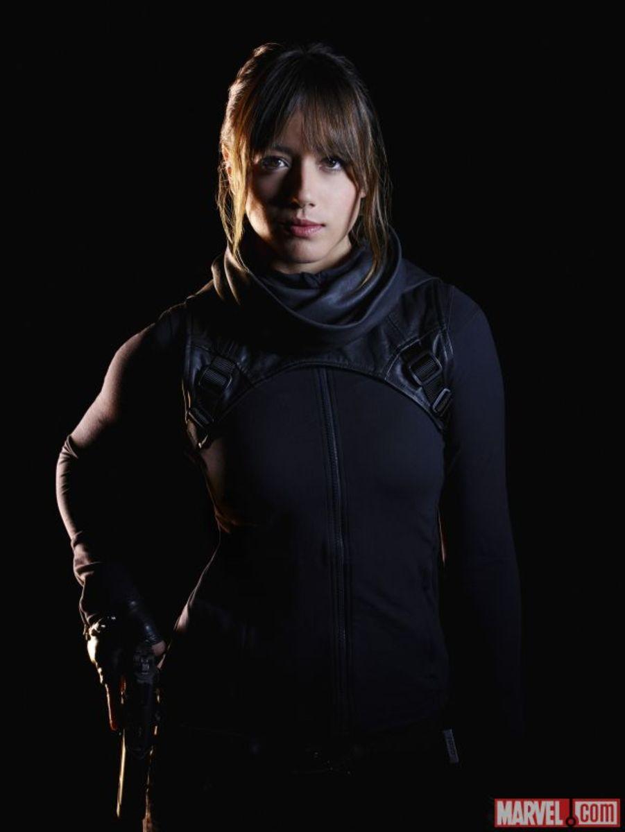 Chloe Bennet as Skye in Marvels Agent of SHIELD