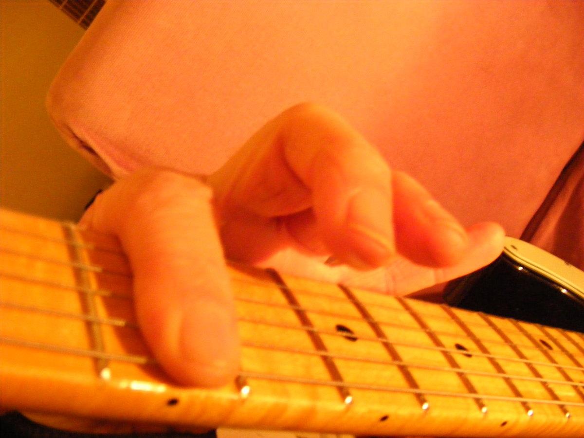 Guitar Open D tuning