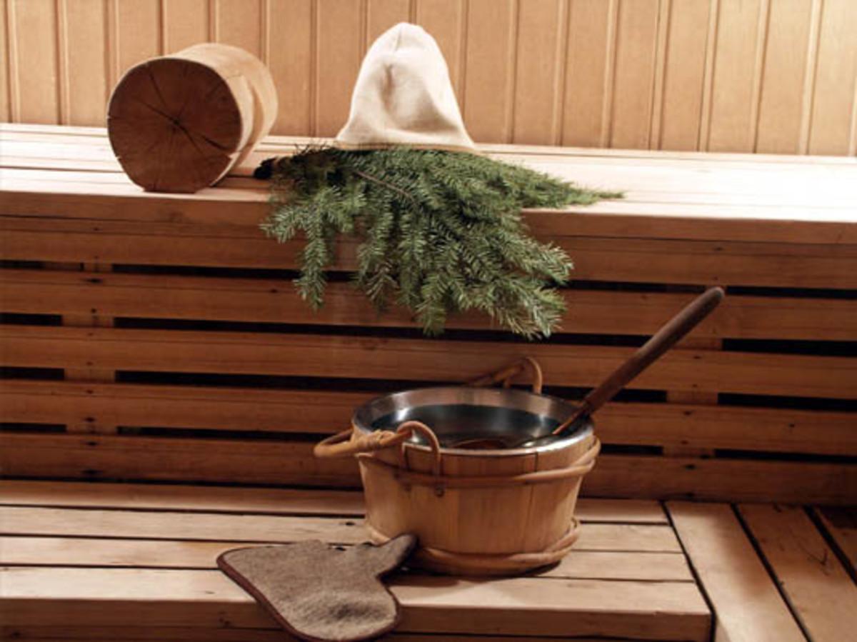 Russian sauna (banya)