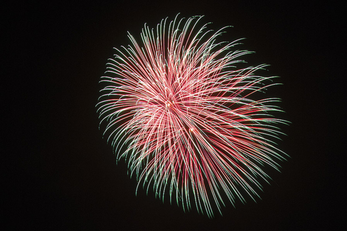 Firework at Sydney