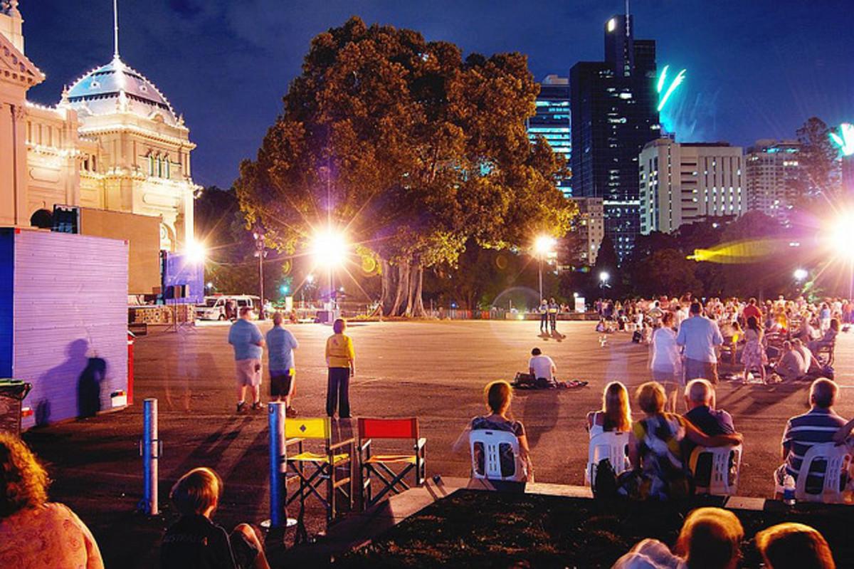 Celebrations at Melbourne