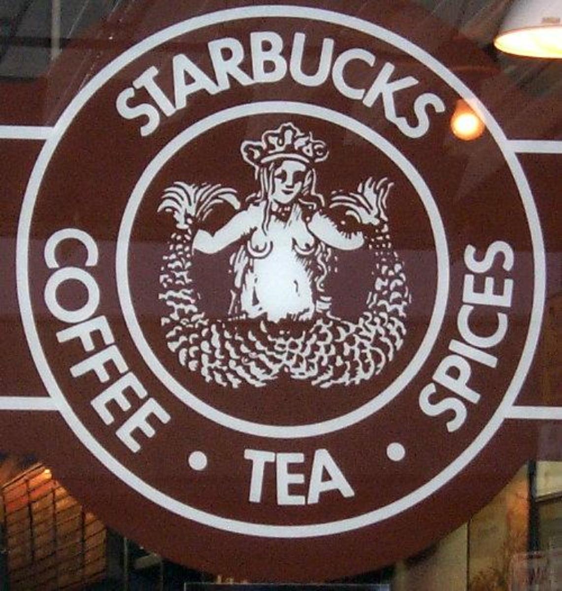 The original Starbucks Siren