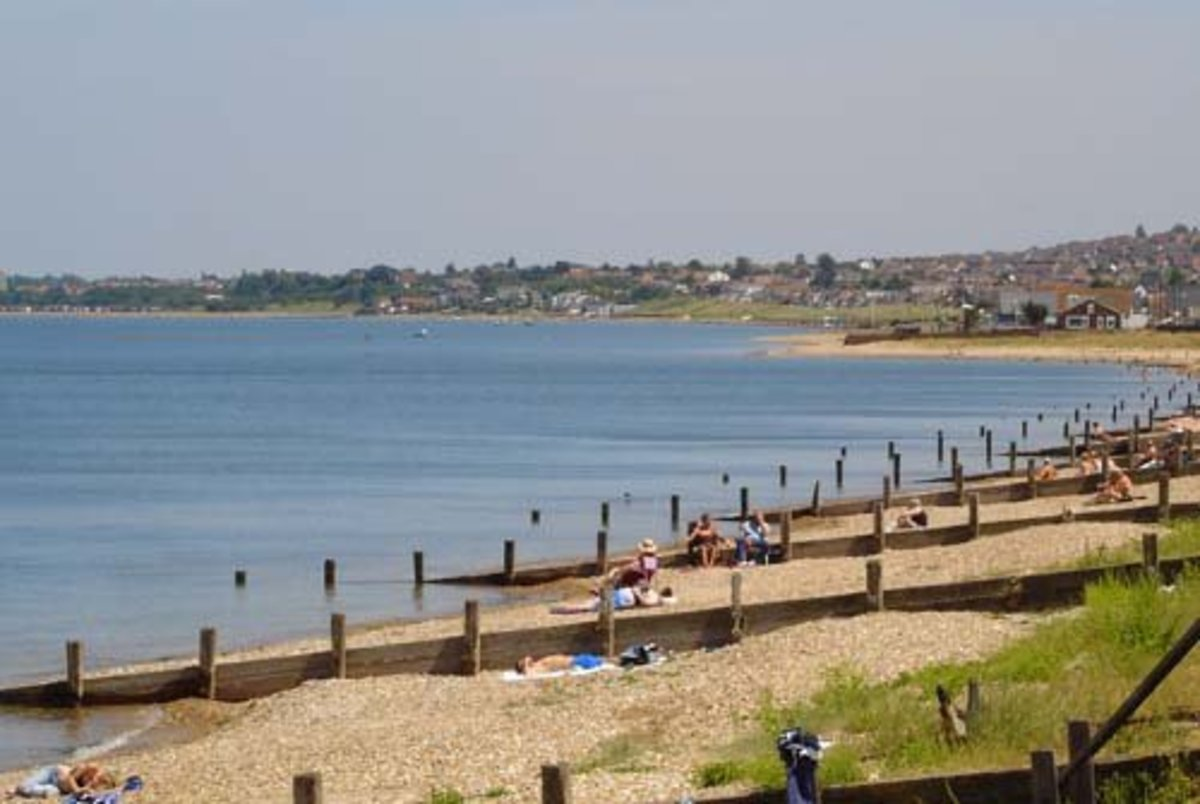 Beach at Seaview