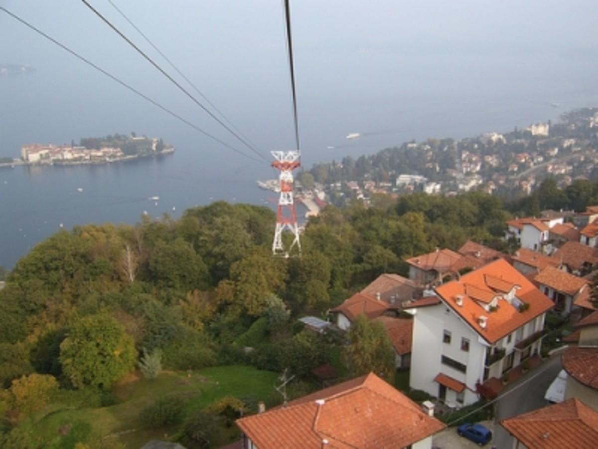 Above Stresa