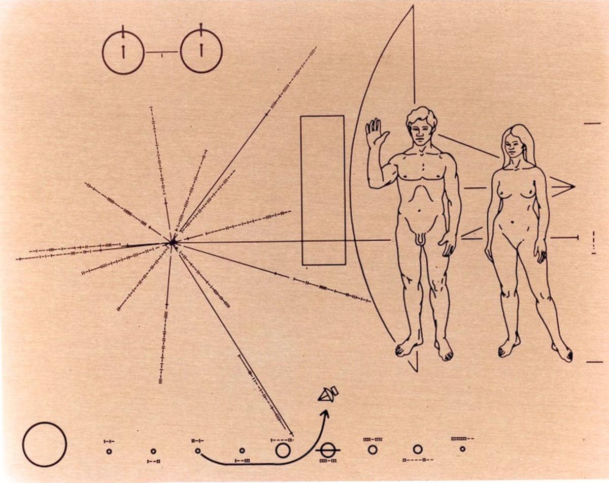 The Pioneer Plaque