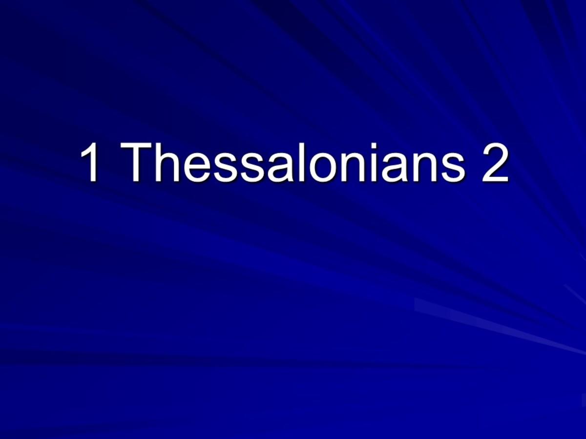 Characteristics of a Good Pastor (I Thessalonians 2)