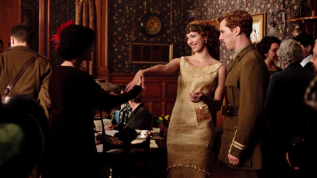Benedict Cumberbatch and Rebecca Hall