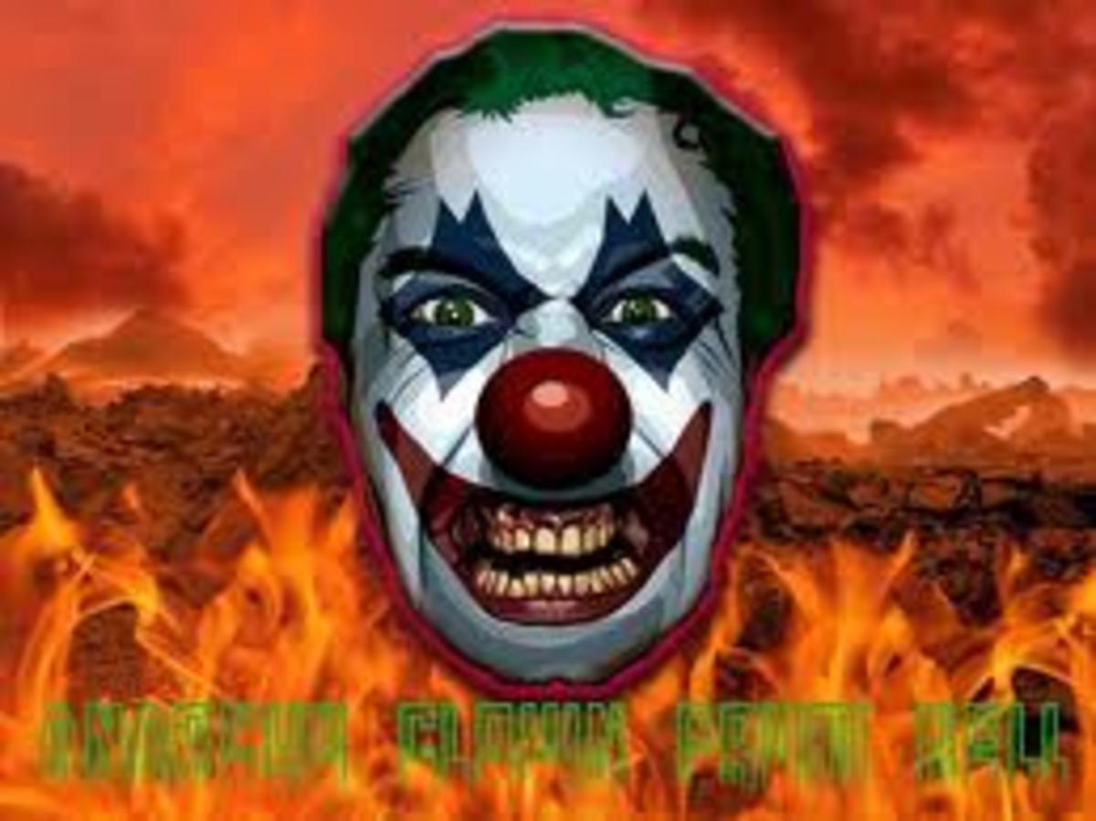 Anarcho Clown:  Public domain