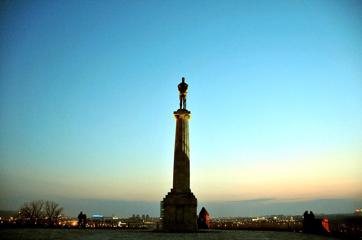 Victor, symbol of Belgrade.