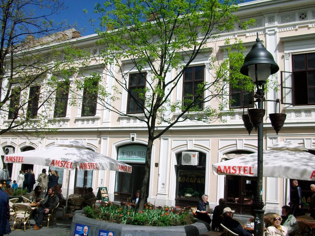 Old building The Legacy in Knez Mihajlova