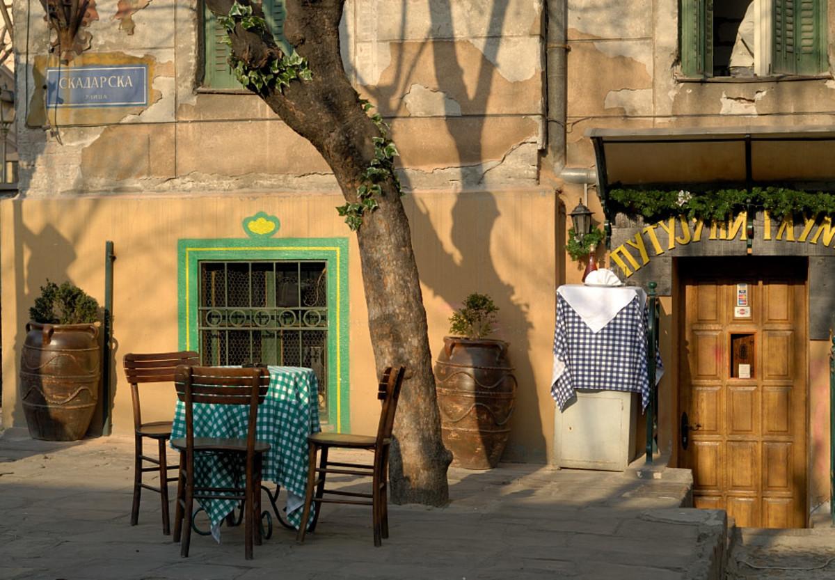 Putujuci Glumac (Travelling Actor) restaurant, Skadarlija