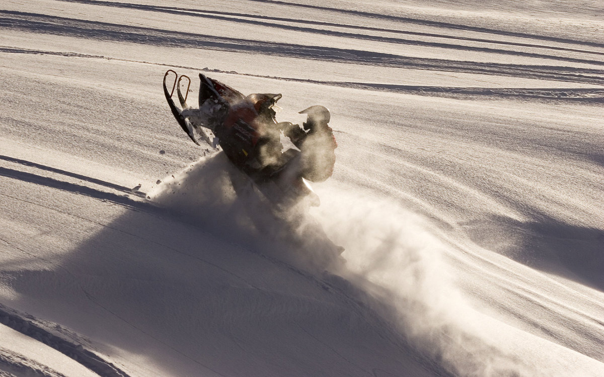 sledding the rockies