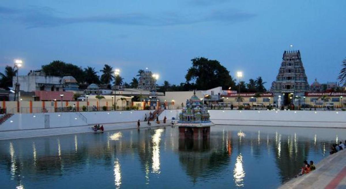 Pondicherry-Villianur-Temples