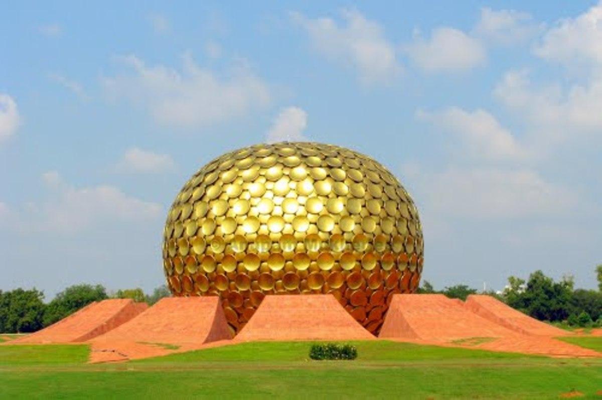 Travel to Pondicherry, Auroville