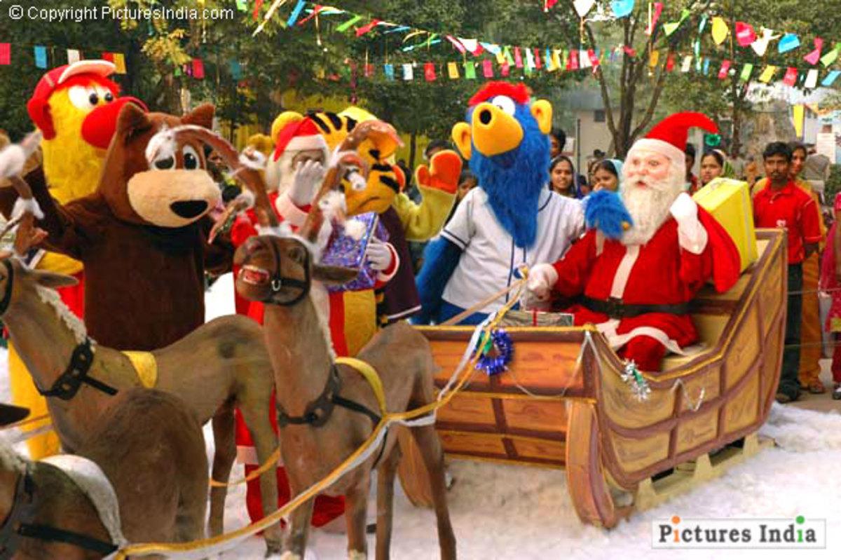 Christmas of kolkata