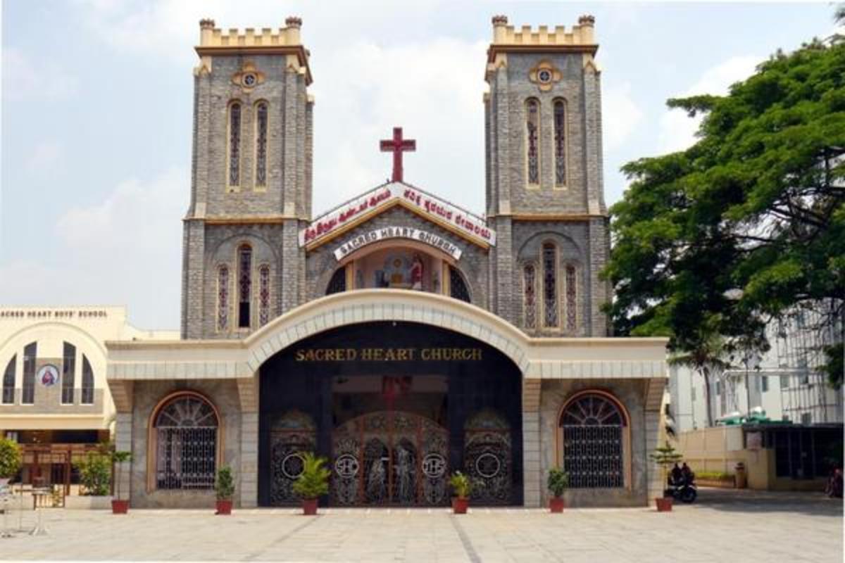 Churches in Bengaluru, Sacred heart Church