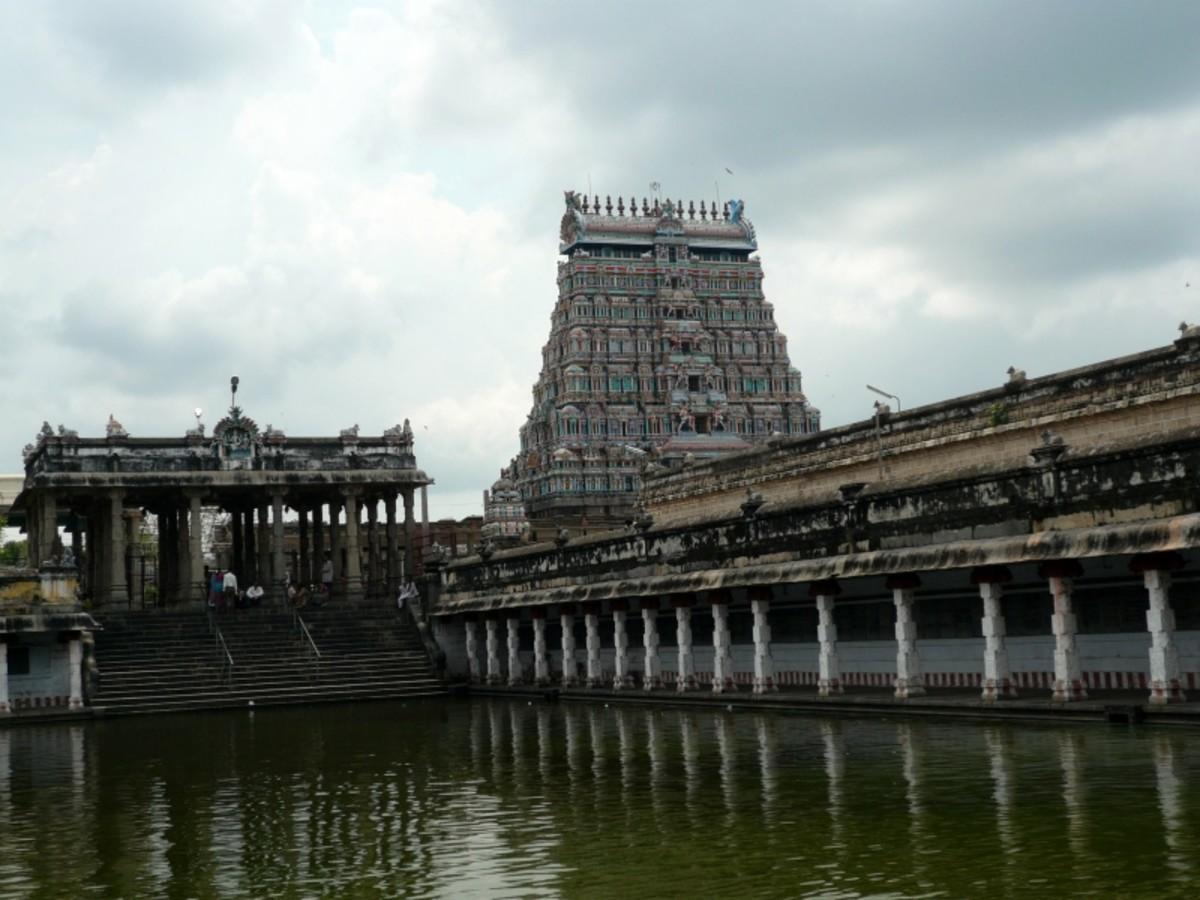 Travel to Pondicherry, Shani thirunallar Temple