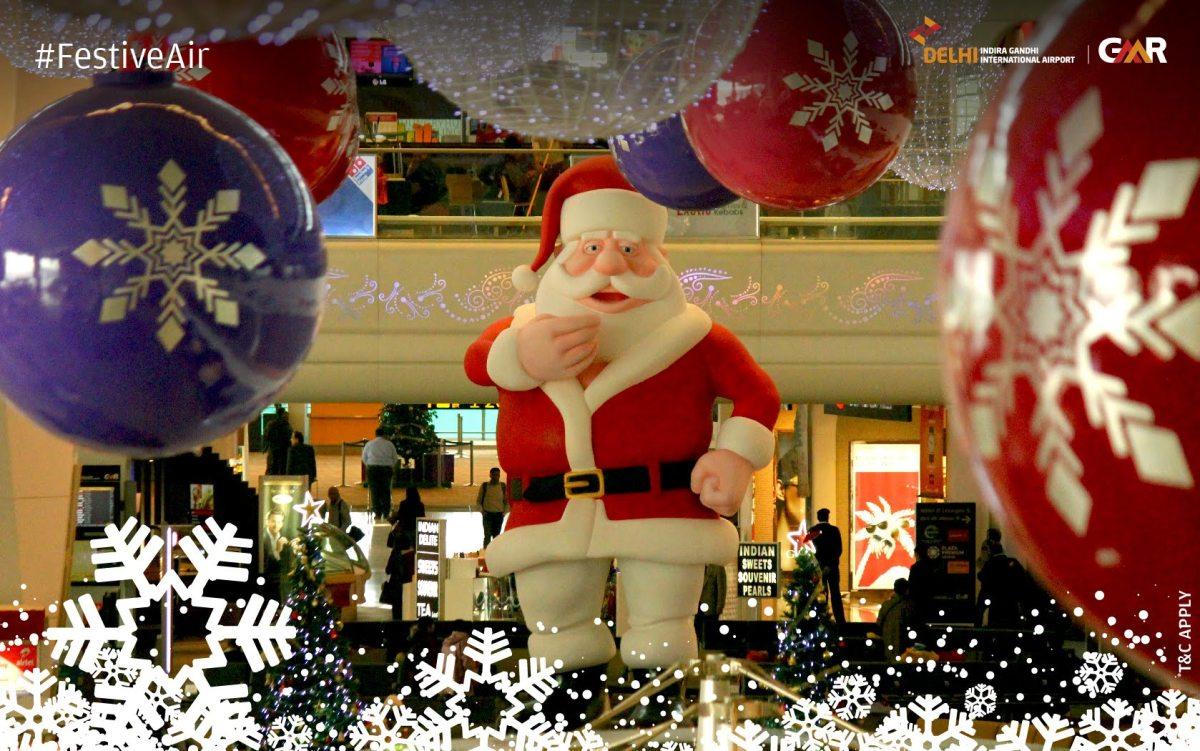 Christmas Eve at New Delhi Airport