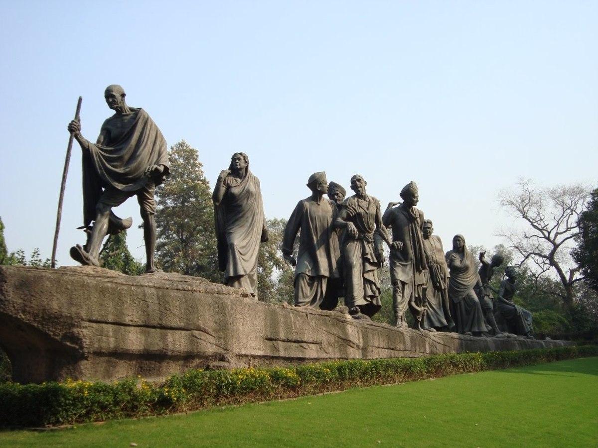 Gandhi ji Statue, Places to visit in Delhi