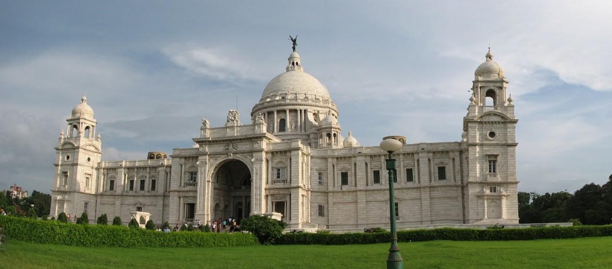 The Victoria Memorial Palace of kolkata