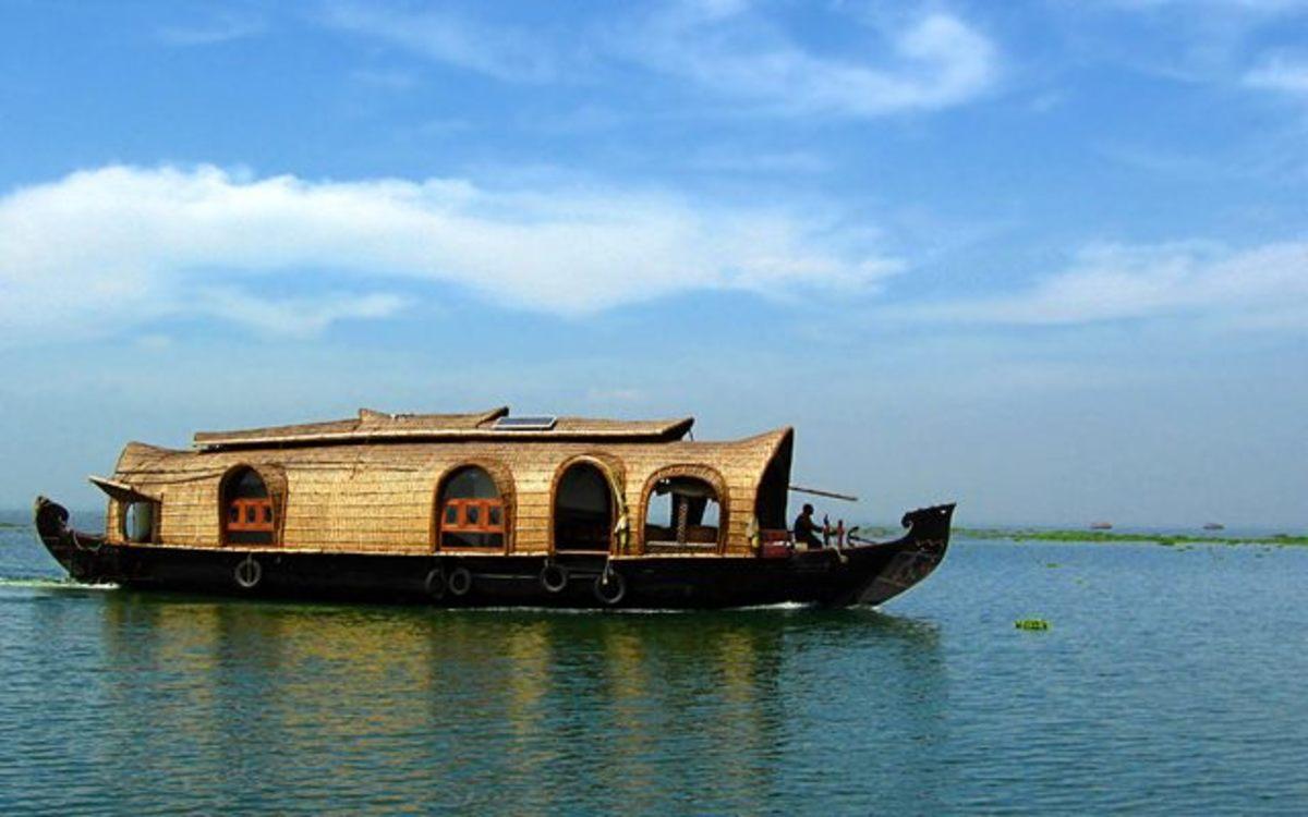 Travel to Pondicherry, boathouse