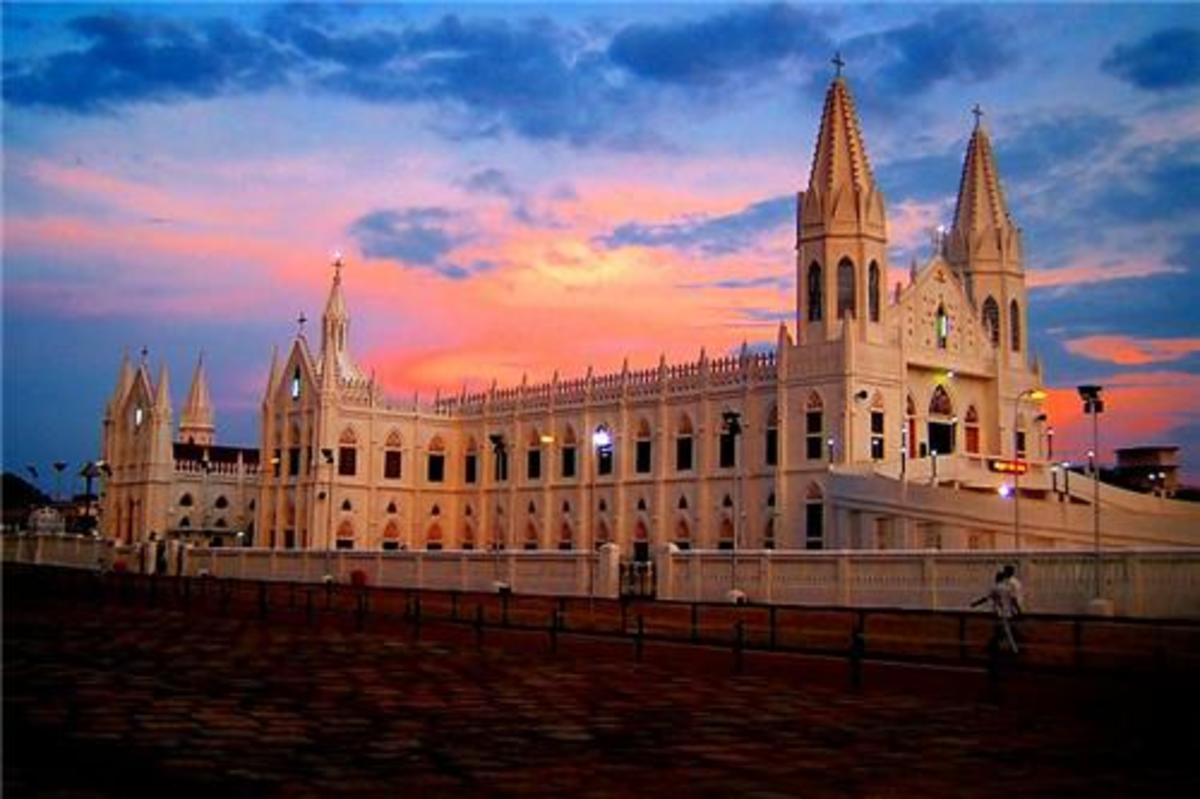 VELANKANNI Church, Chennai