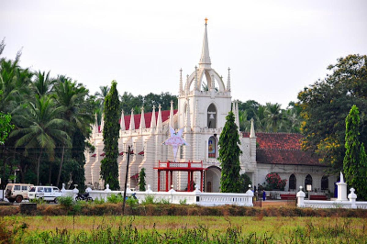 Churches of Goa, Mae de deus (mother of god) church,