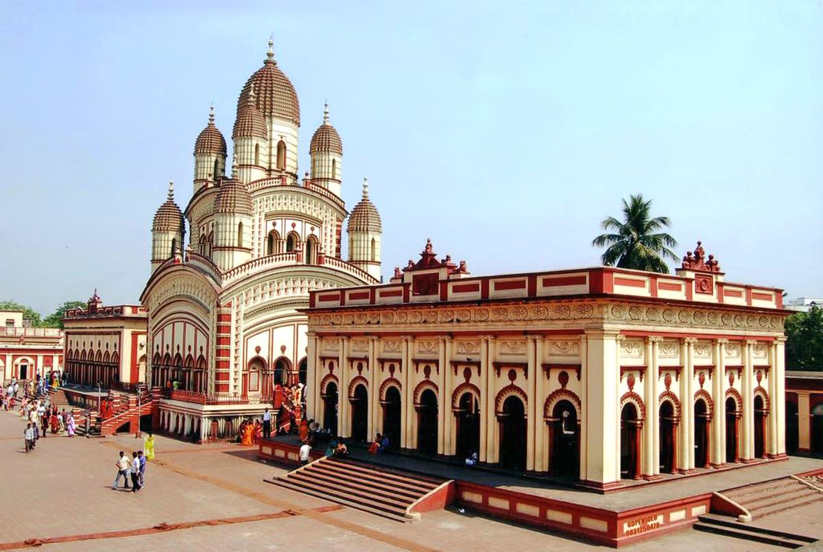 West Bengal Tourist Places - Dakshineswar Temple kolkata