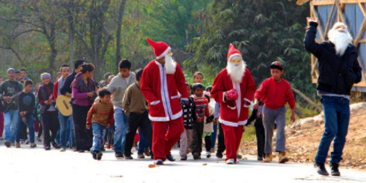 Christmas celebration in Shillong