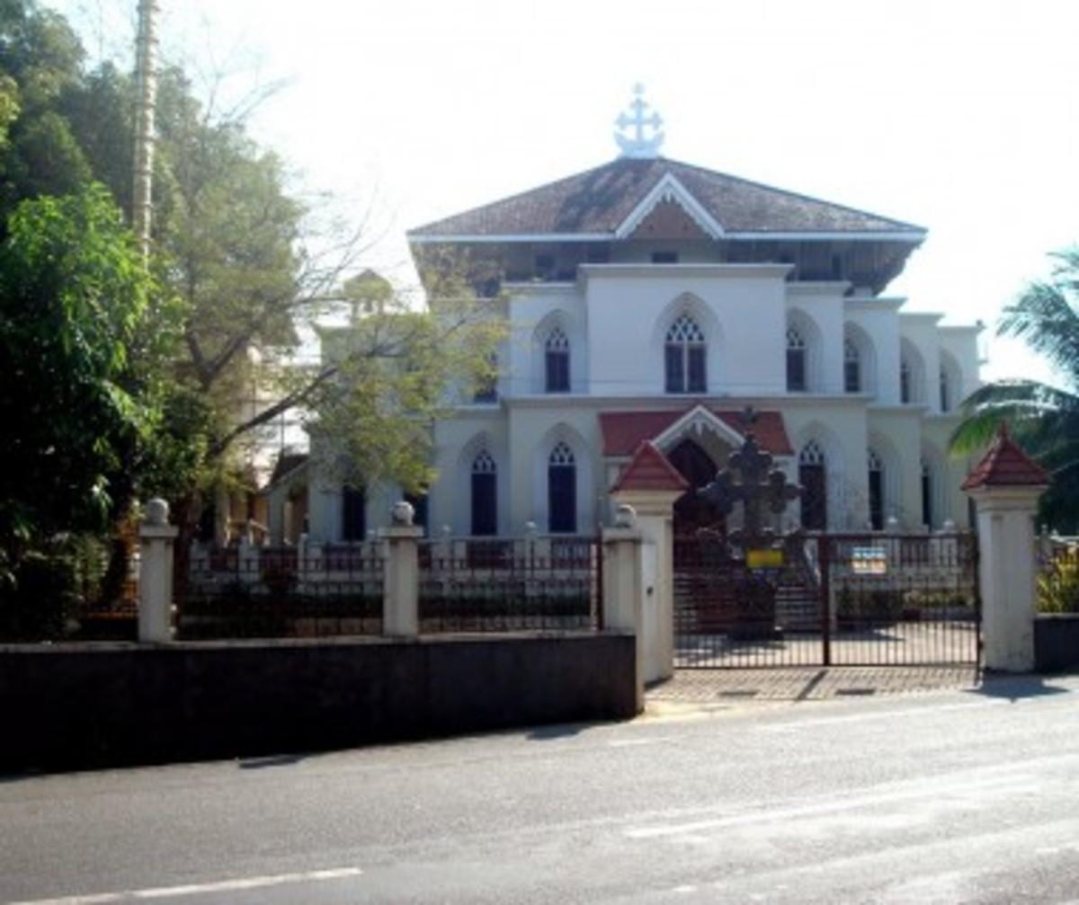 Lourdes forane church, Trivandrum,