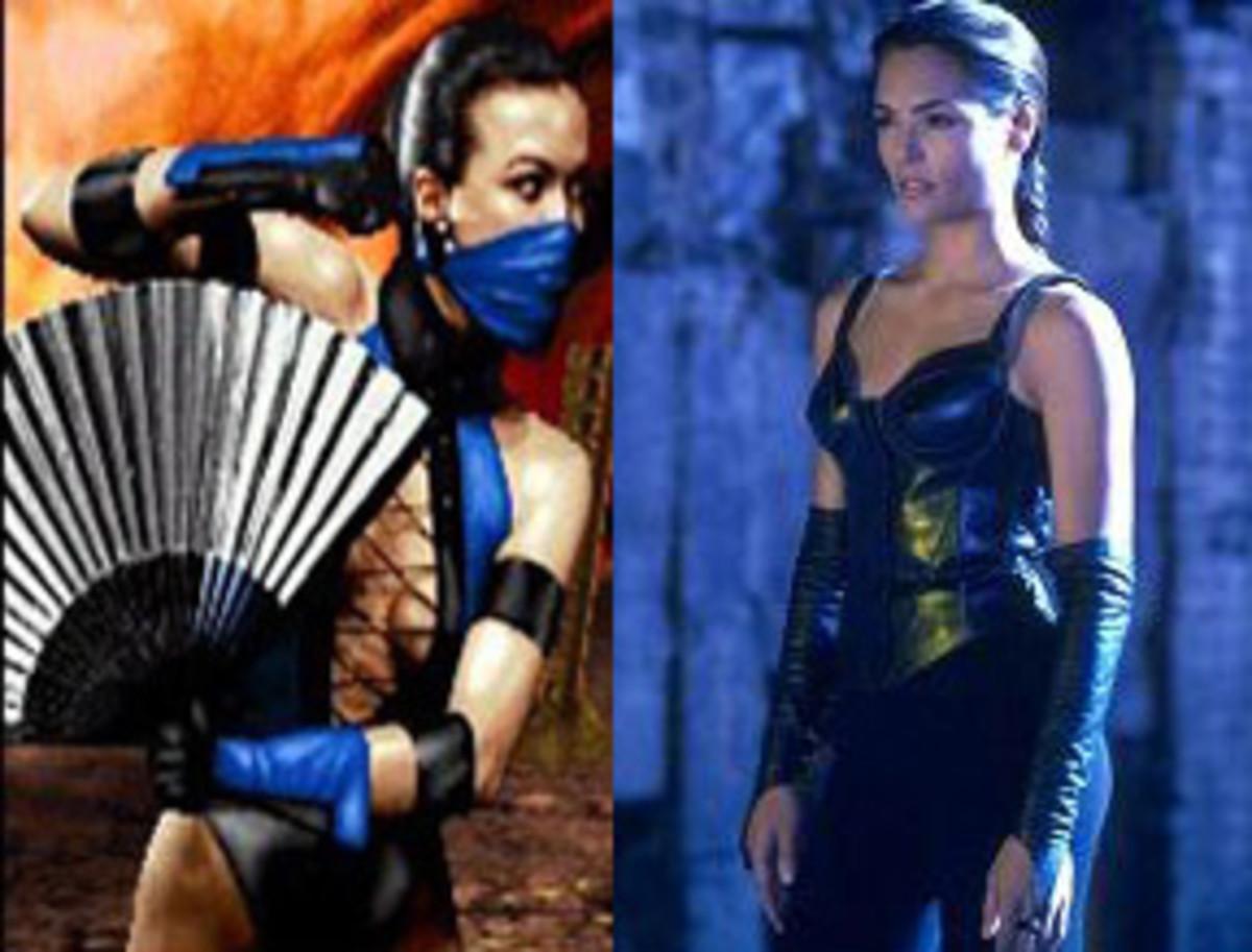 Princess Kitana, Mortal Kombat from Midway, played by Talisa Soto