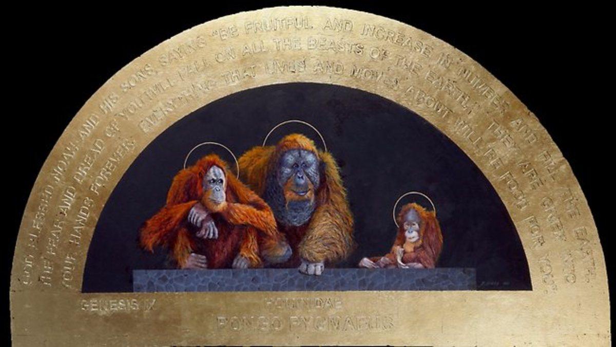 Jesus As An Orangutan