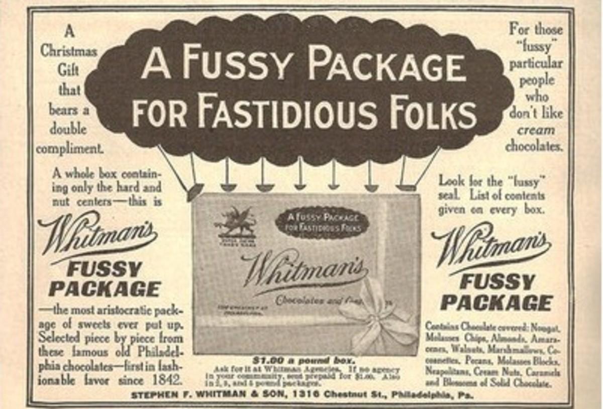 History of Christmas Presents Whitman Samplers
